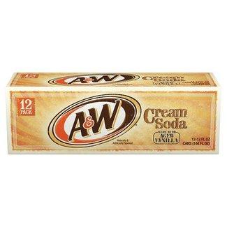 A&W Cream Soda  (12 pack)