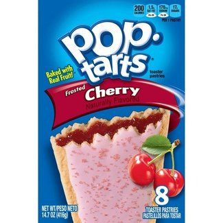 Kellogg's Pop Tarts Frosted Cherry 8pk