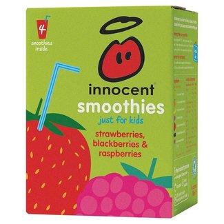 Innocent Smoothies for Kids Strawberries Blackberries & Raspberries 4pk