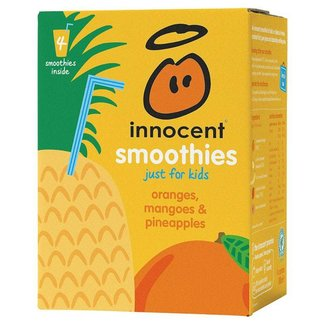 Innocent Smoothies for Kids Oranges Mangoes & Pineapples 4pk