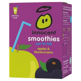 Innocent Smoothies for Kids Apples & Blackcurrants 4pk