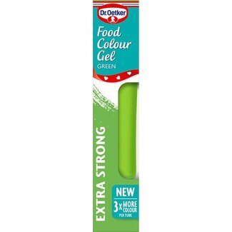 Dr. Oetker Gel Food Colour Lime Green 15g