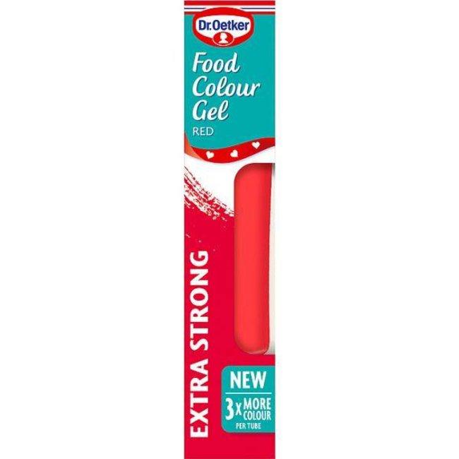 Dr. Oetker Gel Food Colour Bright Red 15g