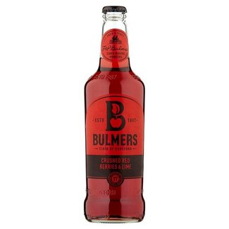 Bulmers Crushed Red Berries & Lime Cider 568ml