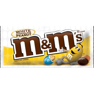 M&M's White Chocolate Peanut 42.5g