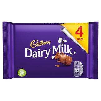 Cadbury Dairy Milk 4pk
