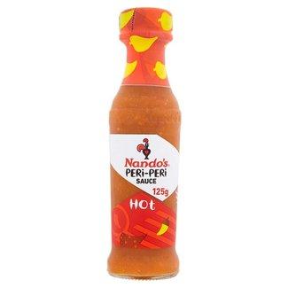 Nandos Hot Peri Peri Sauce PM1.99 125ml
