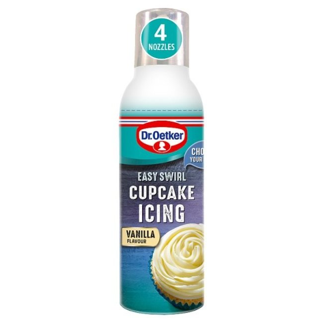 Dr. Oetker Cupcake Icing Vanilla 180g
