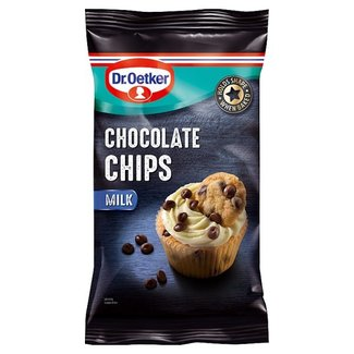 Dr. Oetker Milk Chocolate Chips 100g