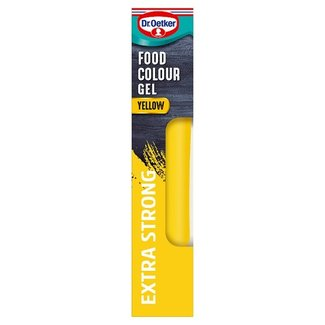 Dr. Oetker Gel Food Colour Sunshine Yellow 15g