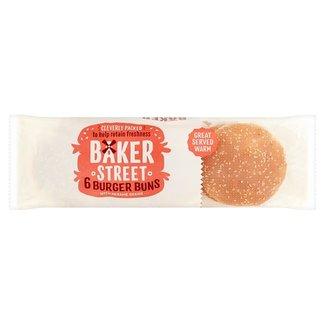 Baker Street Burger Buns Sesame 6pk