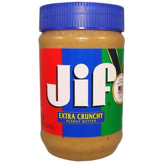 Jif Extra Crunchy Peanut Butter 453g