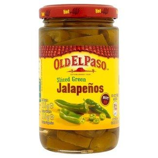 Green Sliced Jalapeños Hot 215g