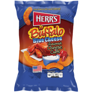 Herr's Buffalo Blue Cheese Curls 199g
