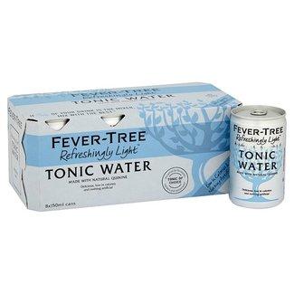 Fever Tree 8pk Refreshingly Light Tonic Water (8x150ml)