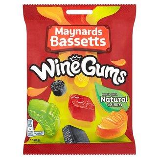 Maynard Bassetts Wine Gums 190gr