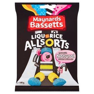 Maynard Bassetts Liquorice Allsorts 190gr