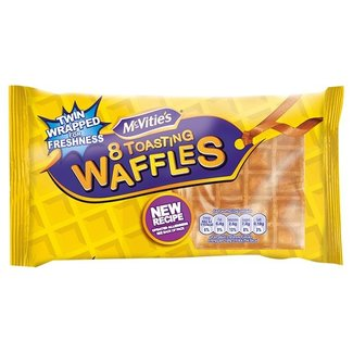 McVitie's Toasting Waffles 8pk
