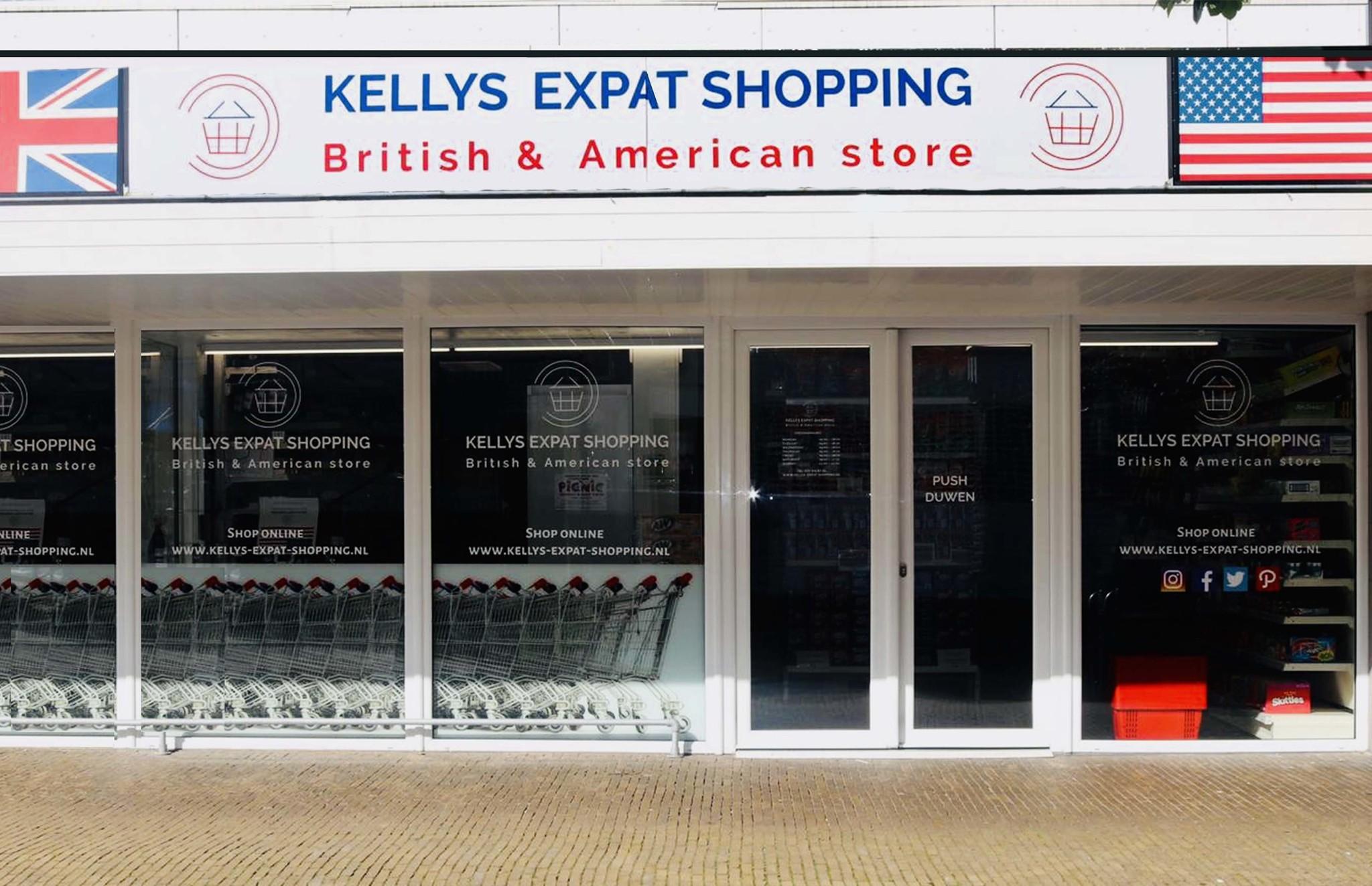 Kellys Expat Shopping Wassenaar | British & American Grocery Store
