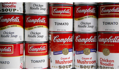 Tins, Cans & Soups