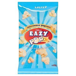 Eazy Pop Salted Microwave Popcorn 85g
