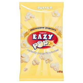 Eazy Pop Butter Microwave Popcorn 85g