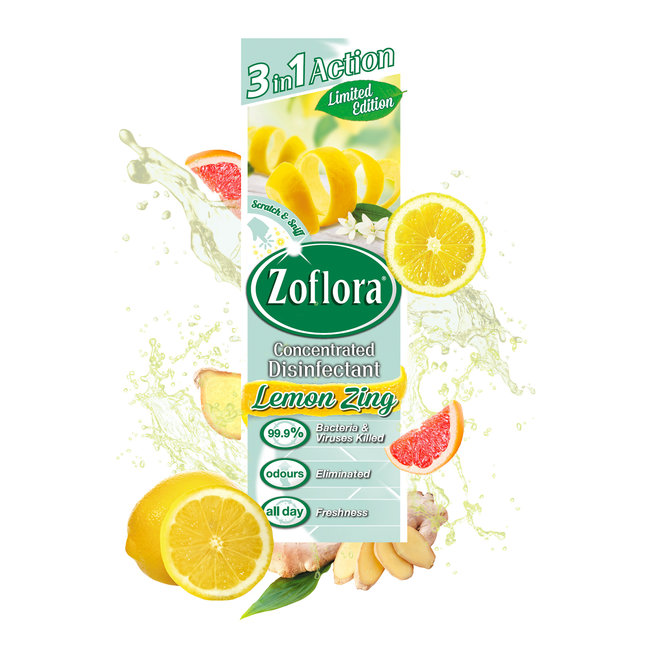 Zoflora Lemon Zing  250ml