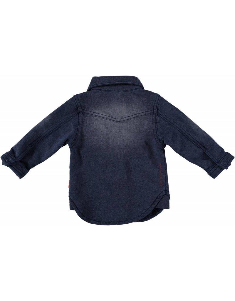 B.E.S.S denim blouse