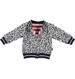 B.E.S.S reversible vestje leopard