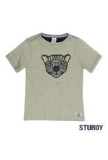 Sturdy gestreept t-shirt sunray