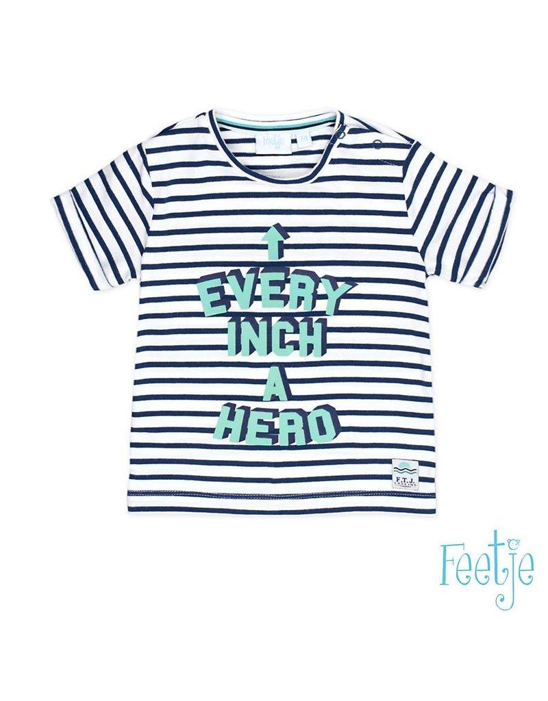 Feetje gestreept t-shirt every inch scuba