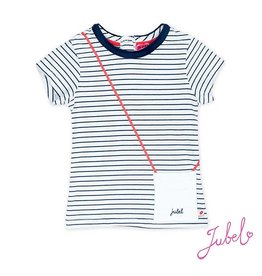 Jubel gestreept t-shirt sea view