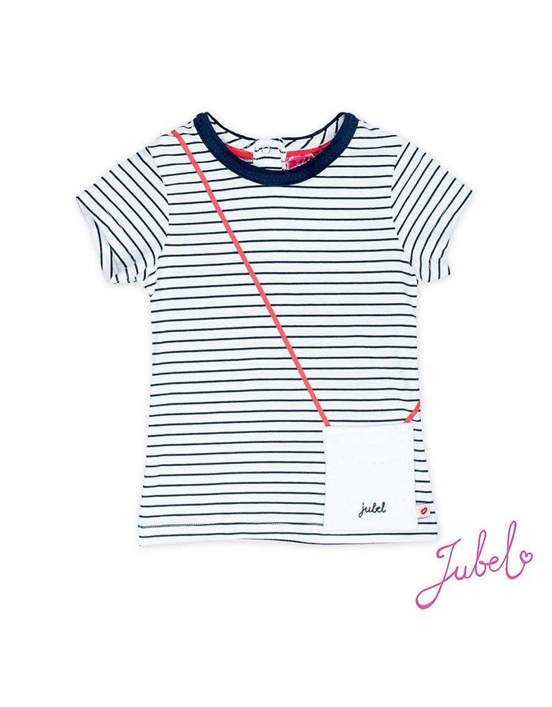 Jubel gestreept t-shirt sea view