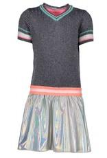 B-Nosy jurk met coated rok