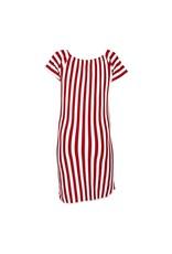 Kie-stone gestreepte jurk