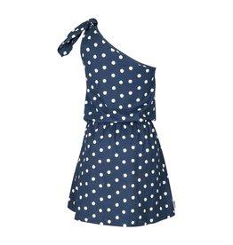 Kie-stone jurk stippen