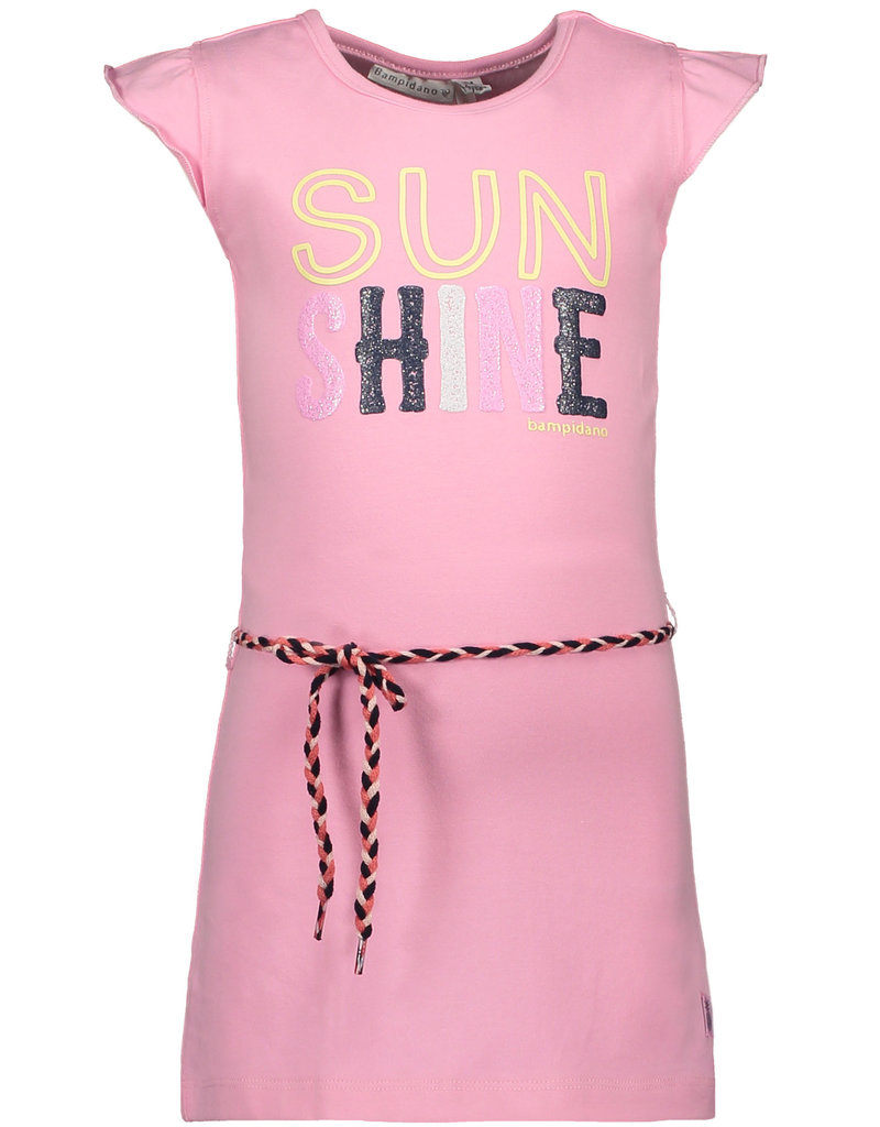 Bampidano jurk met ruffle mouwtjes