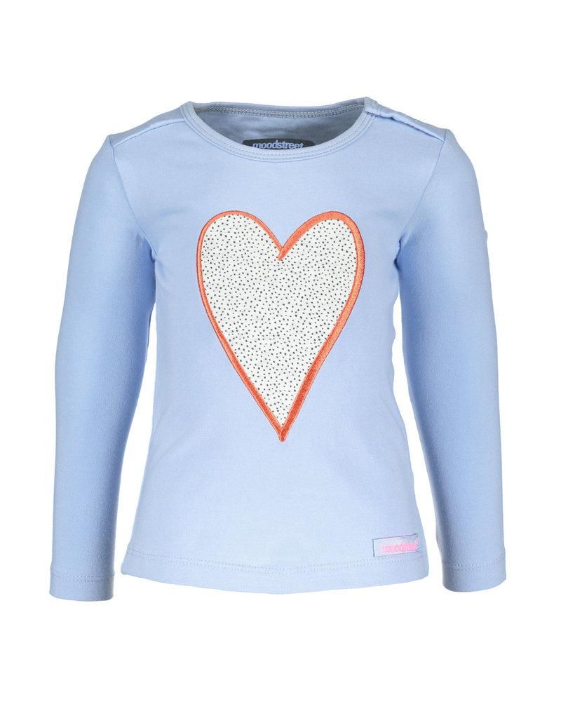 Moodstreet t-shirt hart