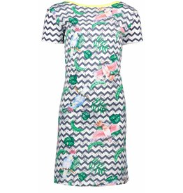 B-Nosy jurk papegaai zigzag