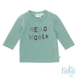 Feetje shirt hello world