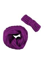 B-Nosy haarband met sjaal