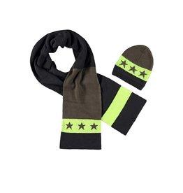 B-Nosy sjaal met muts