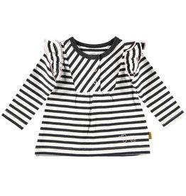 B.E.S.S longsleeve striped ruffles