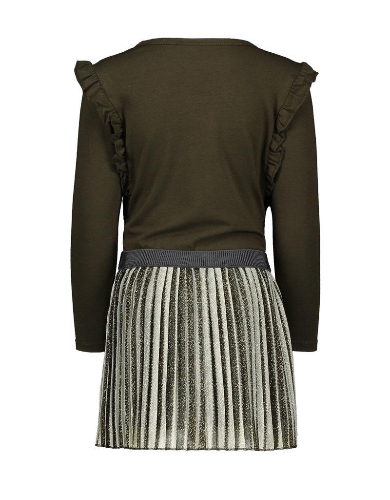 Like Flo jurk met streep rok