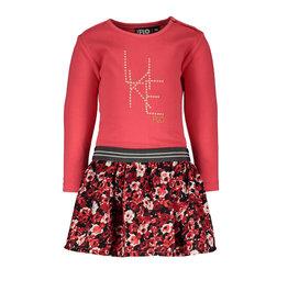 Like Flo jurk met bloemenrok