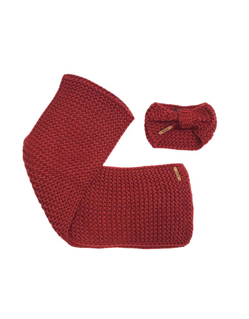 Nobell haarband met sjaal