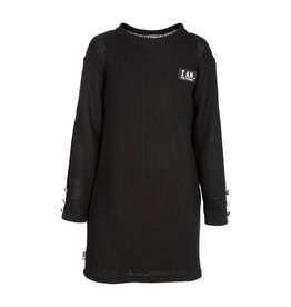 Kie-stone jurk zwart