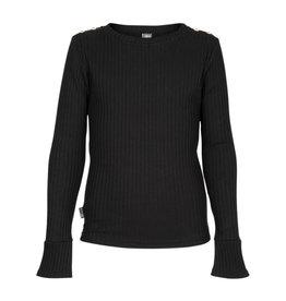 Kie-stone trui zwart