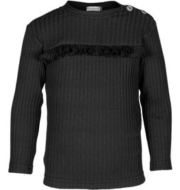 Kiezeltje shirt zwart
