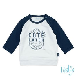 Feetje shirt lange mouw one cute catch